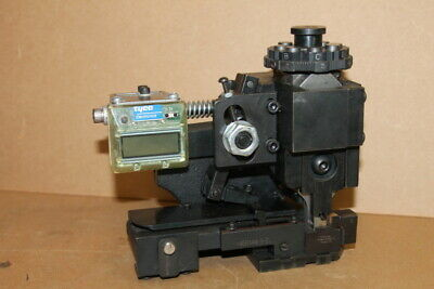 Side feed HDM terminal applicator head, CQM, AMP Tyco 567213-4-L