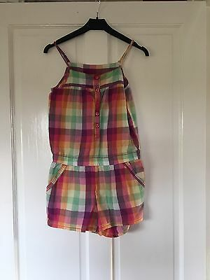 H & M girls Playsuit Age 9-10 Years