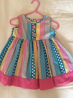 Baby Girls Bluezoo Dress 3-6 Months