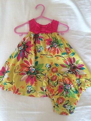 Baby Summer Bluezoo Dress 3-6months