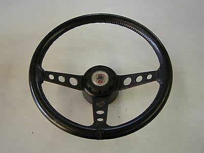 OEM Ford Mustang Truck Fairmont Leather Sport Steering Wheel 1978 1979 + Button