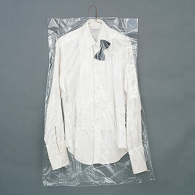 """Dry Cleaning Poly Garment Bags 40""""  Over 540pc per Roll   21x7x40"""
