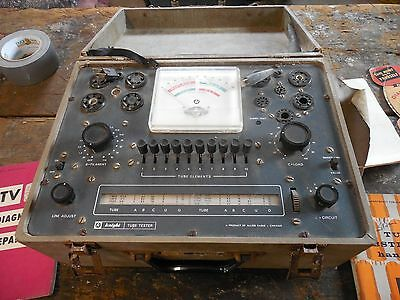 Vintage Allied Knight  Tube Tester Model 600A