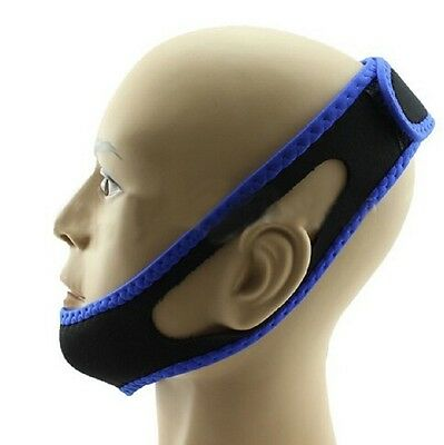 Anti Snore Chin Strap Snoring - Quieter Nights for Mouth Breathers S-L 27""