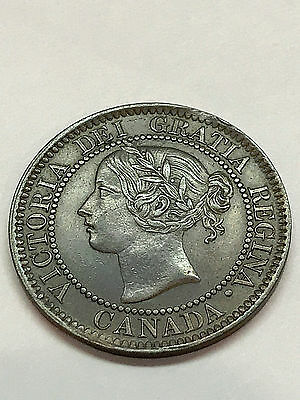Canada 1859 1 Cent XF+ #1965