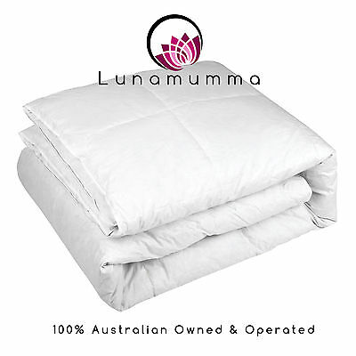 Duck Feather Down Quilt Doona 500gsm - Single, Double, Queen, King & Super King