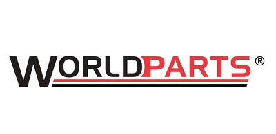 Disc Brake Rotor-Coated Rotor Rear WORLDPARTS WS1-831598 fits 12-16 Fiat 500
