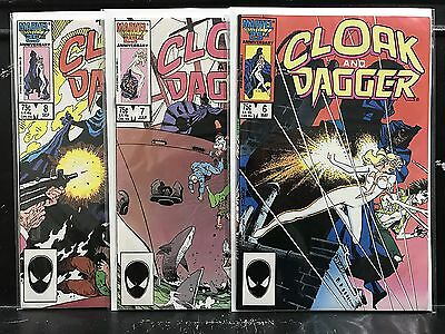 Lot of 3 Cloak and Dagger #6 7 8 (1985 Series Marvel) Combined Shipping!