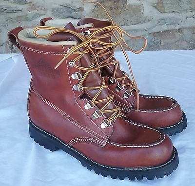 WOOD n STREAM WEINBRENNER LEATHER UPLAND BOOTS 8 M NEW WOMENS USA SHOES BROWN