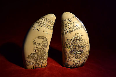 """faux matching pair    """"King George 3rd""""  &  """"Admiral Howe""""    """" Museum """"Quality"""""""