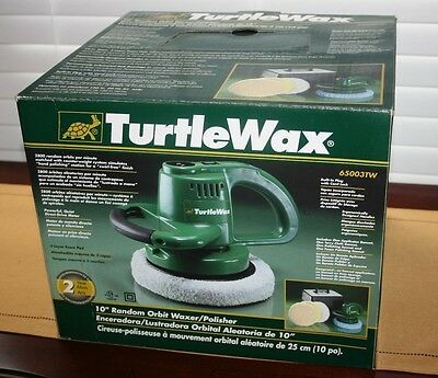 "NIB Turtle Wax 65003TW 10"" Random Orbit Waxer/Polisher"