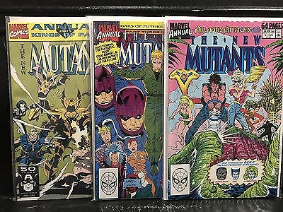 Lot of 3 New Mutants Annual #5 6 7 (1983 Series Marvel) Combined Shipping Deal!