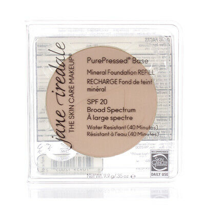 Jane Iredale PurePressed Base Mineral Foundation SPF 20 Refill Natural 0.35oz