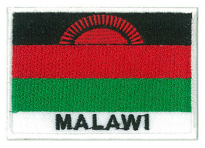 patch embroidered badge patch flag Malawi 70/45 mm