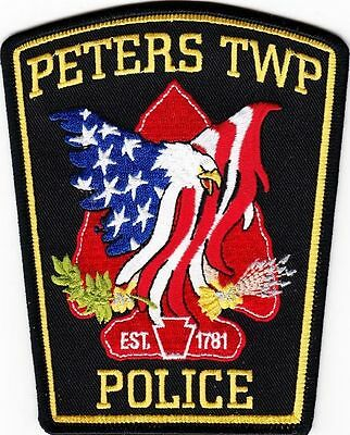 Peters Township Pa Penn Flag Arrow Head Ppd Indian Local State County