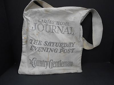 Vintage newsboys delivery bag for Ladies Home Journal