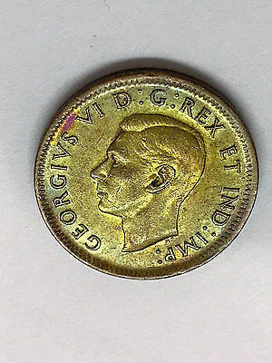 1945 Canada 1 Cent XF Toned #1979