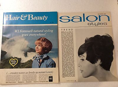 Hair & Beauty Magazine Dec 1965 Britain's Only National Mthly Prof Hair w/Supple