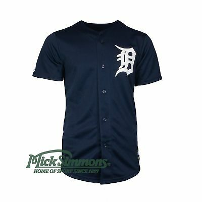 NEW Detroit Tigers Replica Alternate MLB Baseball Jersey by Majestic Athletic