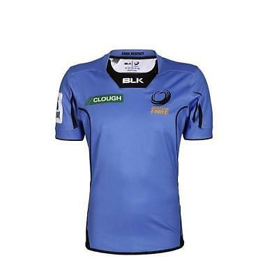 NEW Western Force 2017 Men's Home Rugby Jersey by BLK