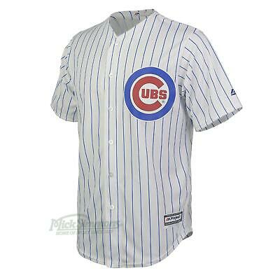 NEW Chicago Cubs Cool Base Home MLB Baseball Jersey by Majestic