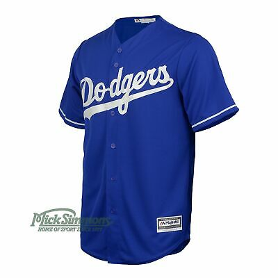 NEW Los Angeles Dodgers Cool Base Alternate MLB Baseball Jersey by Majestic