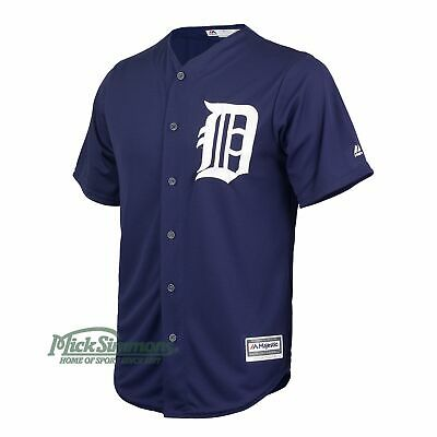 NEW Detroit Tigers Cool Base Alternate MLB Baseball Jersey by Majestic