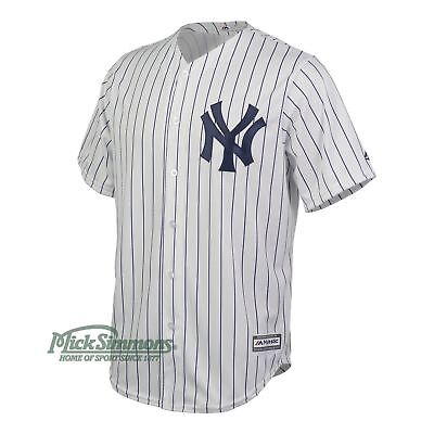 NEW New York Yankees Cool Base Home MLB Baseball Jersey by Majestic