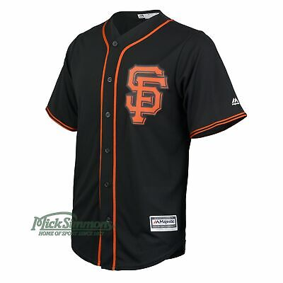 NEW San Francisco Giants Cool Base Alternate MLB Baseball Jersey by Majestic