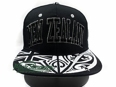NEW New Zealand Super Star Flat Peak Snapback Cap by Zephyr TOA Collection