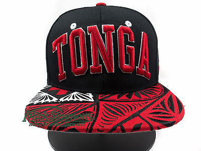 NEW Tonga Super Star Flat Peak Snapback Cap by Zephyr TOA Collection