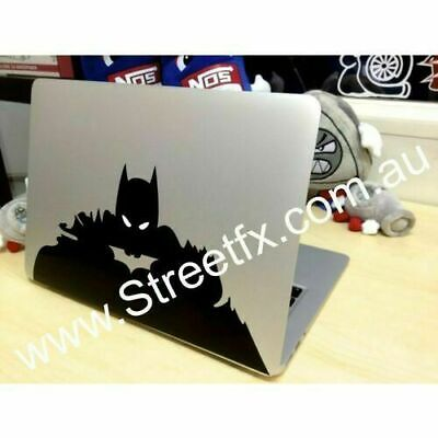 Laptop Batman Dark Knight Sticker Decal Apple Macbook Dell Laptop MSI Asus.