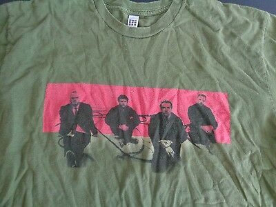 COLDPLAY Twisted Logic 2005 Tour Concert Size XL Shirt Music FREE SHIPPING