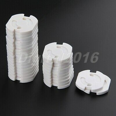 10/20/30/40x Safety Covers Cap Anti Electric EU Wall Plug Socket Baby Protection