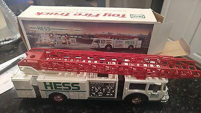 1989* Hess* Toy* Fire* Truck*  In* Box*