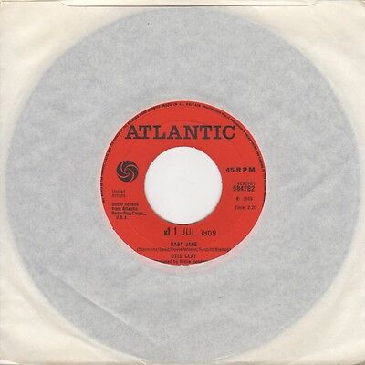 Otis Clay - Baby Jane / You Hurt Me For The Last Time - Atlantic Demo 584282 - N