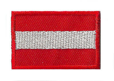 Badge écusson patche thermocollant Autriche petit patch 45 x 30 mm