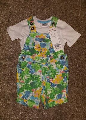 Baby boys dungarees. up to 3 months old. BNWT