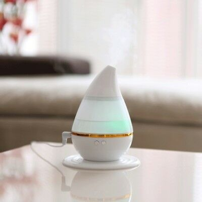 TECH Ultrasound USB Changing Air Humidifier Purifier 7 LED Color Light Aroma At