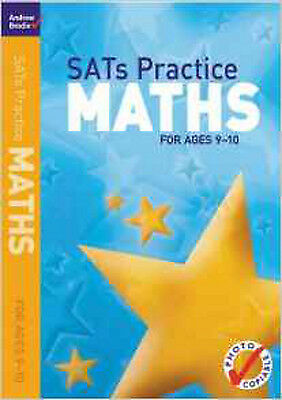 SATs Practice Maths: For Ages 9-10 (SATs Practice), New, Brodie, Andrew Book