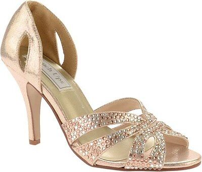 BENJ-848231025825-Touch Ups Womens Poise Dress Sandal, Champagne, 9.5 M US