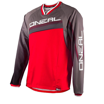 ONeal Element FR - Maillot Downhill Homme - gris/rouge Modèle S 2016 maillo