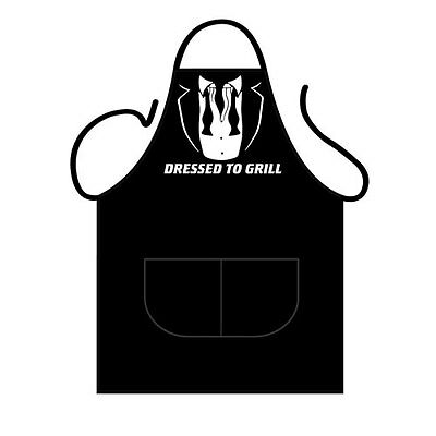 Novelty BBQ Apron Dressed to Grill