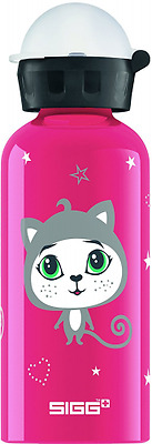 SIGG Kitty Kittens Bouteille Mixte Enfant, Multicolore, 0,4 L