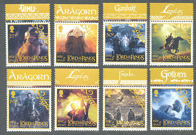 Isle of Man - Lord of the Rings set mnh 2003 -Tolkien