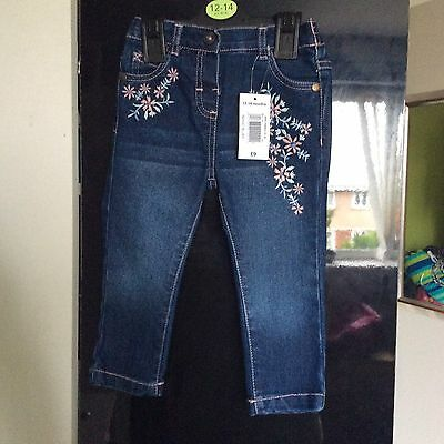 baby girls jeans 12-18 months