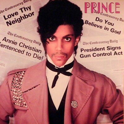 PRINCE  'Controversy' Album Flat Mint  1981 Suitable for framing