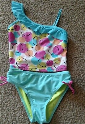 girls two piece swimsuit size 8