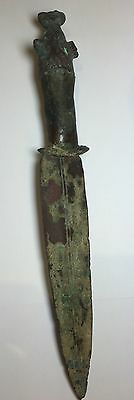 Ancient Luristan Near Eastern Bronze Dagger C.1000 BC.