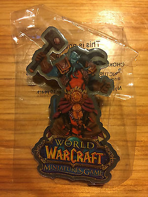 NEW World of Warcraft Miniatures Game Pin FACTORY SEALED